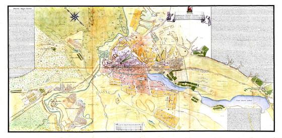 Plan gubernskago goroda Kazani